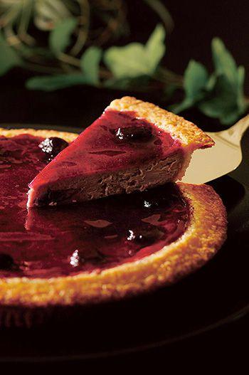 チーズケーキ ブルーベリー