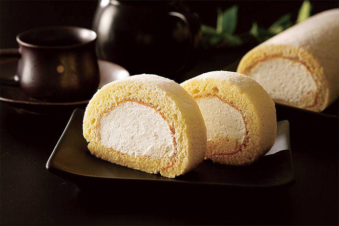マスカルポーネのロールケーキ